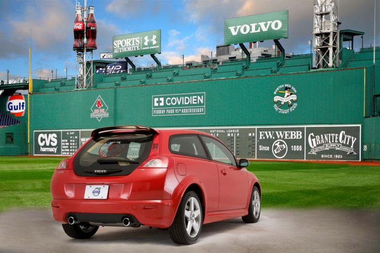 2008 Volvo C30 T5 Boston Red Sox edition