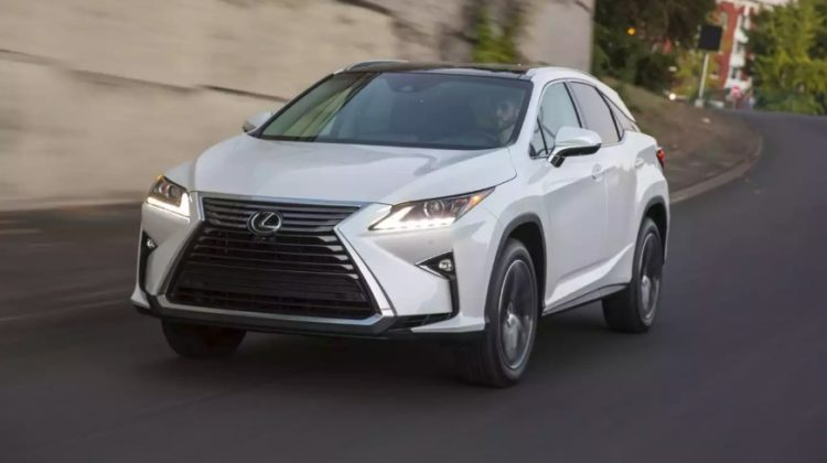 The Top Five Lexus RX 350 Models of All-Time