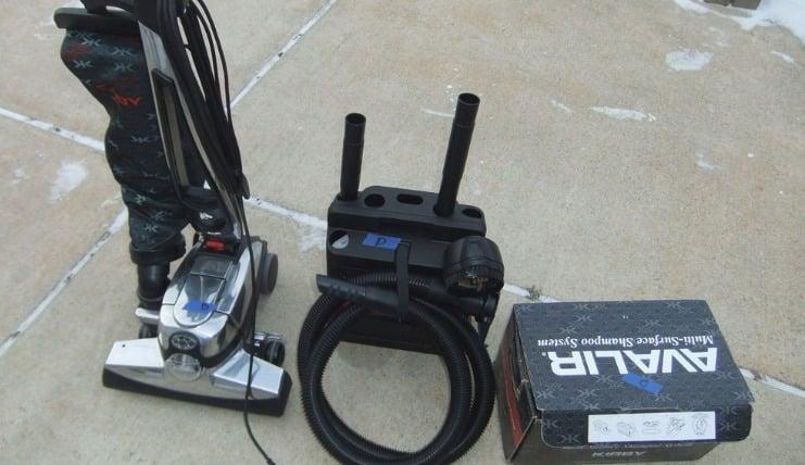 Avalir Kirby HEPA Pet Upright Vacuum Cleaner