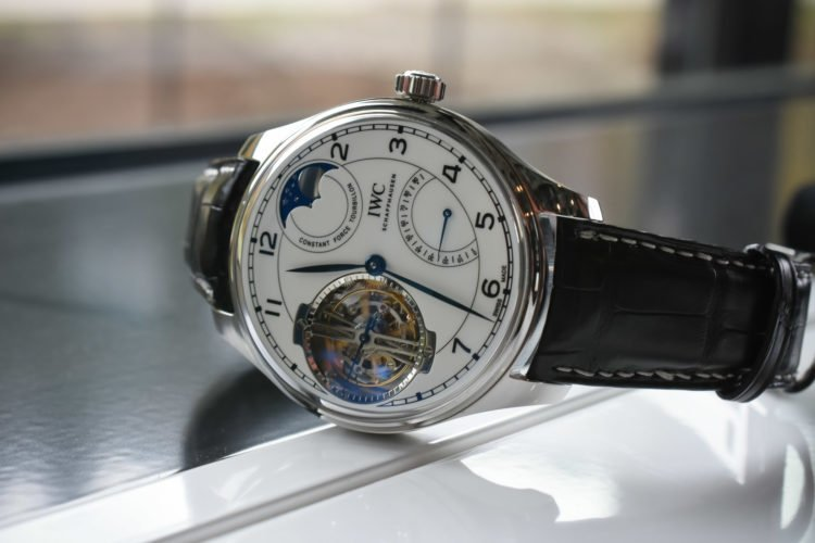 "IWC Portugieser Constant-Force Tourbillon Edition ""150 Years"""