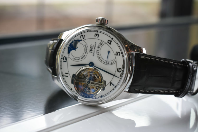 """IWC Portugieser Constant-Force Tourbillon Edition """"150 Years"""""""