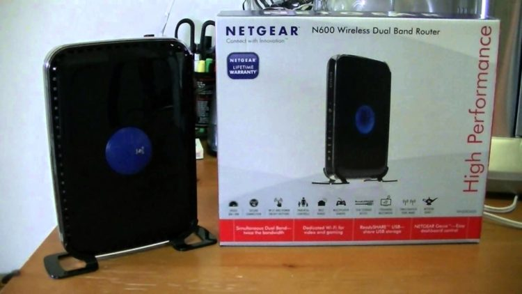 N600 WiFi Dual Band Router