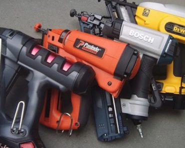 The Top Five Nail Gun Brands on the Market Today
