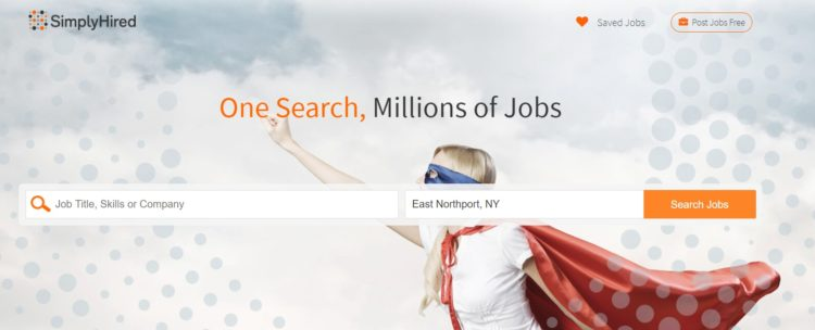 Simply Hired Free Jobs Search Website