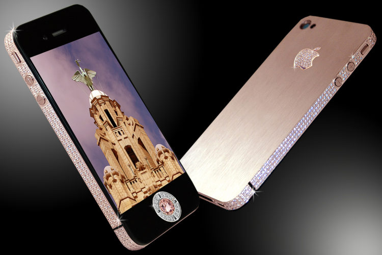 iPhone 4 Diamond Rose Edition