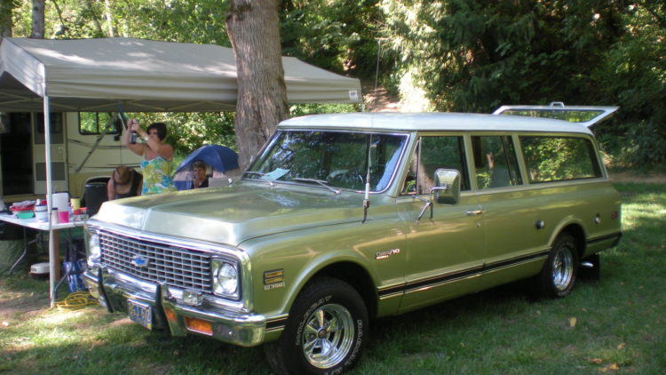 The History and Evolution of the Chevy Suburban