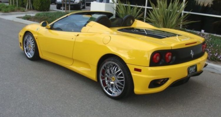 The History And Evolution Of The Ferrari 360