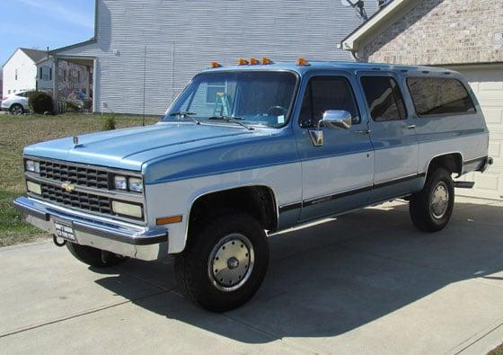 1988 chevy suburban 6.2 diesel
