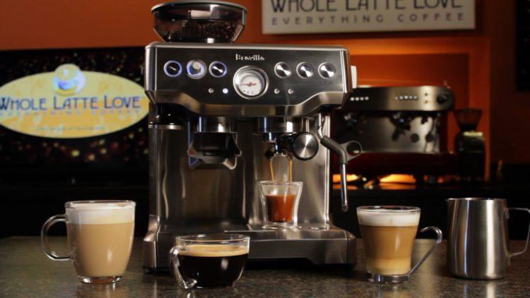 Breville Barista Express Programmable Espresso Machine