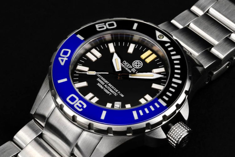 10 Things You Didn't Know about Deep Blue Watches