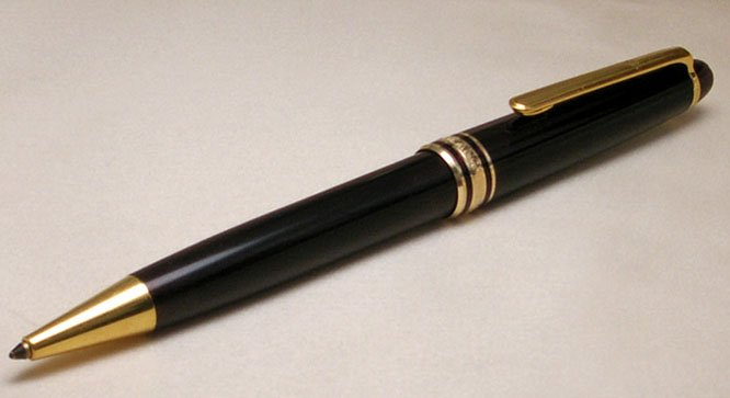 It Was The First Safety Fountain Pen And Included Name Montblanc Company Lore Describes As Alluding To