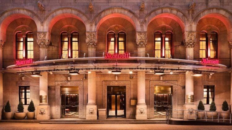 marriott hotel upper west side new york