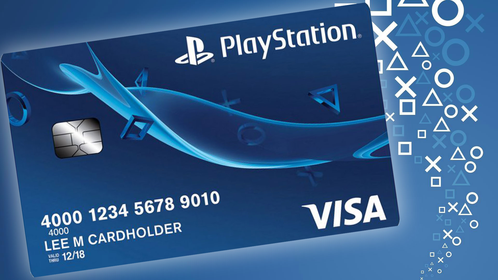 A Playstation Credit Card Exists and Here's What It Is