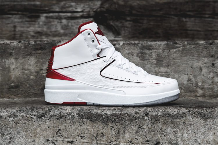 ce69b3b9a8d3 This pair of Air Jordan 2 OG white sneakers is valued at  31