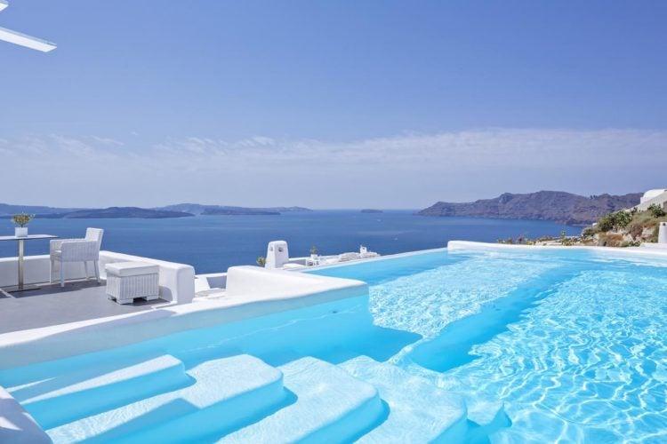 The Five Best 5-Star Hotels In Santorini, Greece