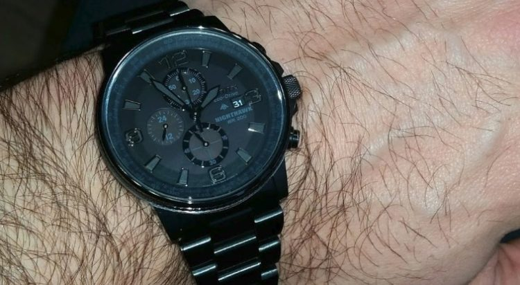 Citizen Eco-Drive Nighthawk Watch