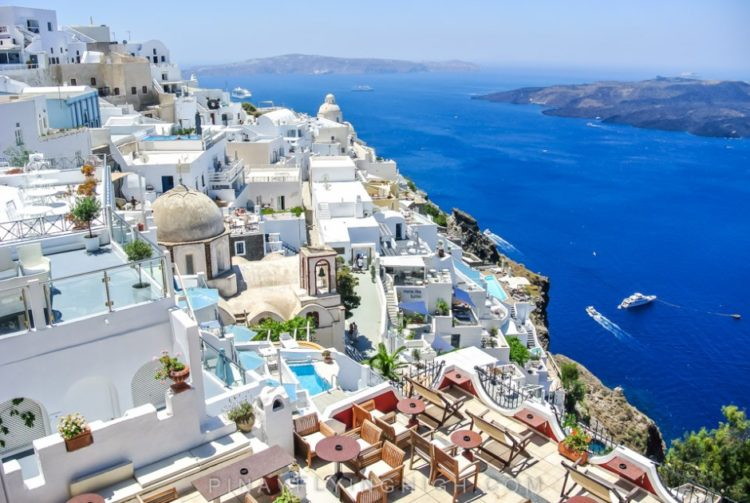 The Five Best 5 Star Hotels In Santorini Greece