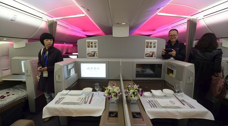 The Five Most Luxurious Planes In Air China S Fleet