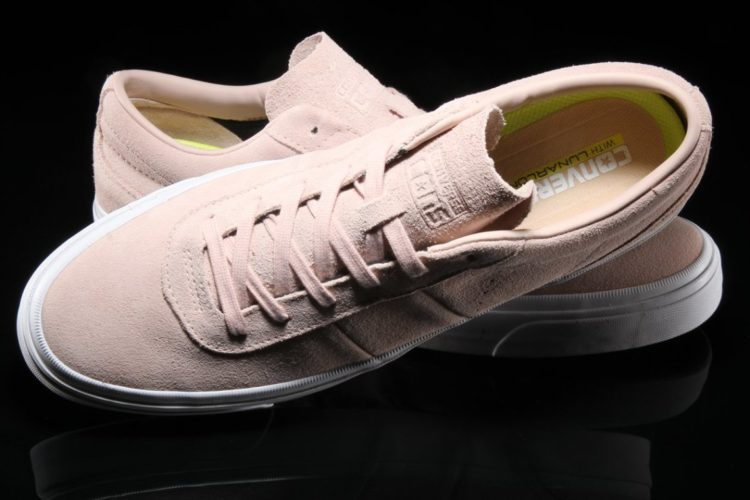 0880ed41573dde Converse One Star Ox Pink Suede Sneakers. At first