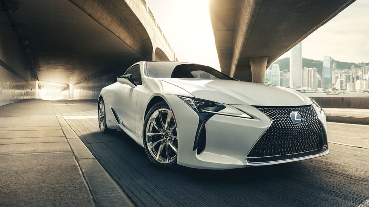 Just Before Lexus First Introduced The Lc Model Back In 2016 At North American International Auto Show It Was Another Concept Car