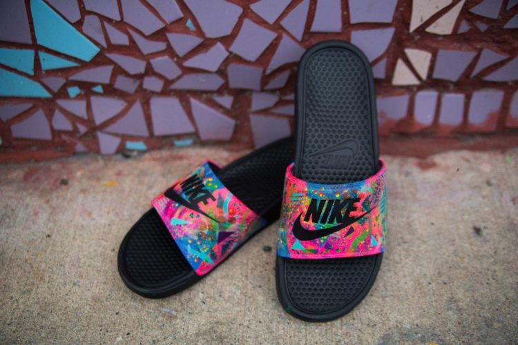 734cae79c979 ... slides would make a come back so soon in fashion  These styles were  popularized in the 90s and early 2000s mostly because of their comfort. We d  have to ...