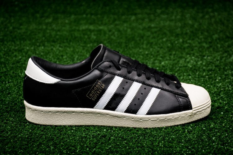 9875a0e8f788 The OG model in the Superstar line is offered in core black