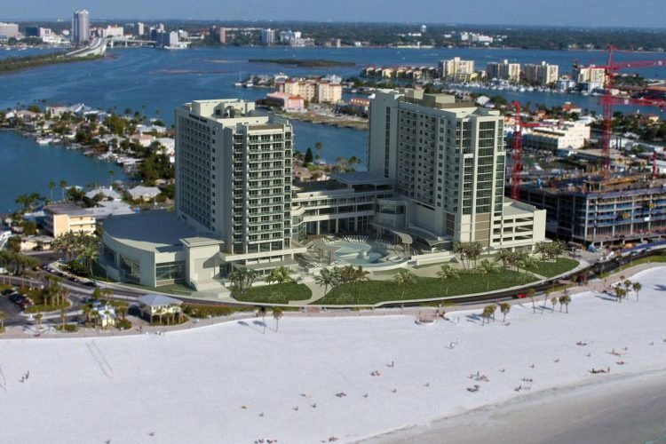 The Wyndham Grand Clearwater Beach Resort Is A New 4 Star Hotel With Amazing Gulf Views And Top Notch Customer Service Valet Parking Available Upon