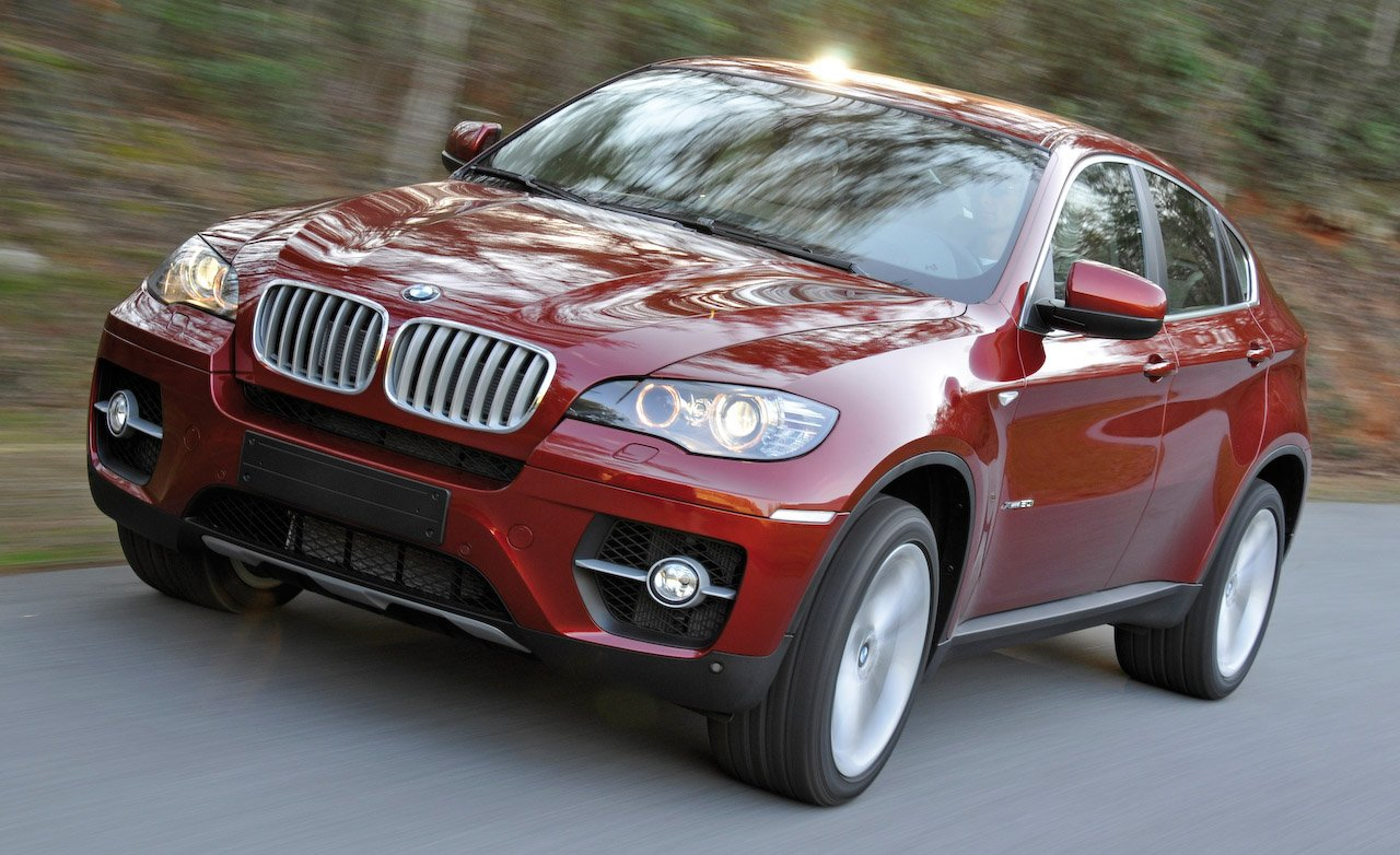 The History And Evolution Of The Bmw X6