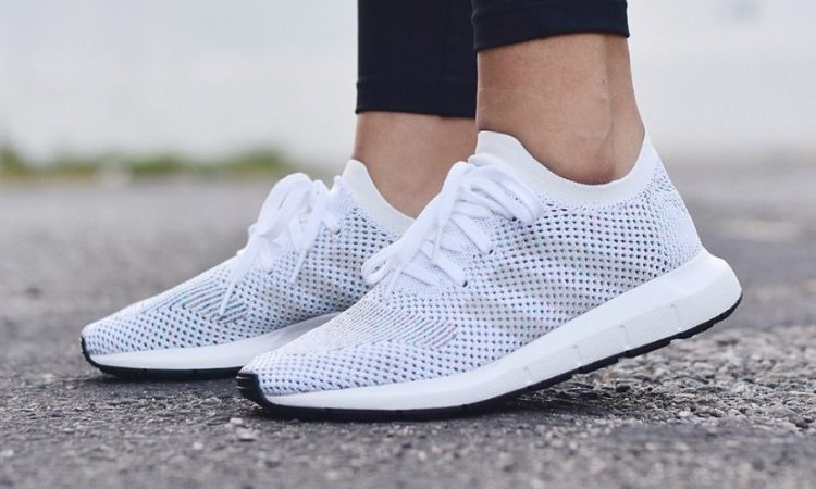 Adidas Swift Run Primeknit Mens Sneakers Grey Attractive Appearance Clothing, Shoes & Accessories Women's Shoes