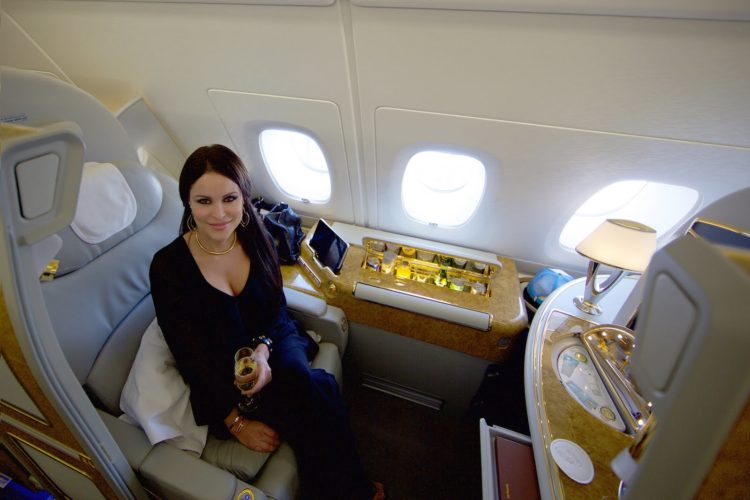 What It S Like To Fly First Class On An Emirates A380