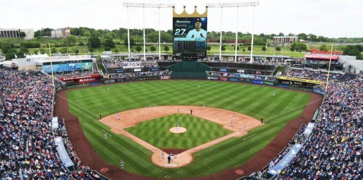 Kansas City Royals Bats Crown Club Seats Elcho Table