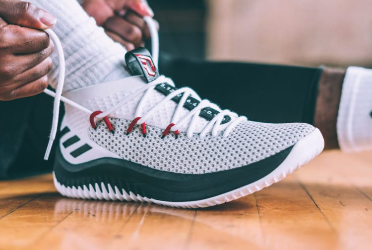 914543db7cb4 ... that was designed in collaboration with a basketball star. Dame 4 was  designed with Damien Lillard s pre-workout sessions in mind. They re low  cut shoes ...