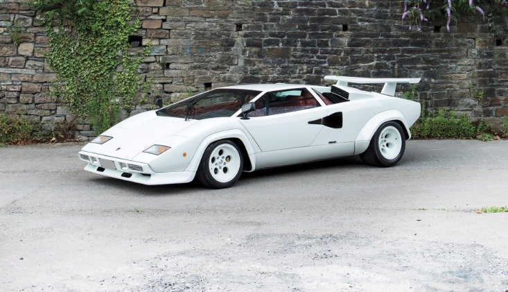The History And Evolution Of The Lamborghini Countach