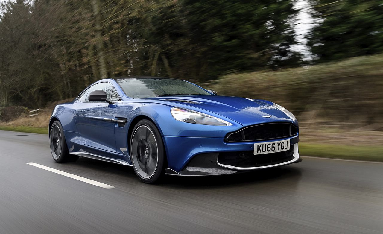the history and evolution of the aston martin vanquish