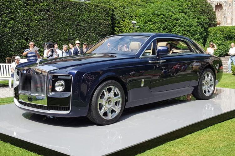 Rolls Royce Sweptail