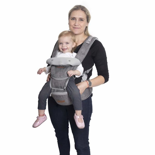 Tommy Dommy 6 In 1 Ergonomic Baby Carrier With Hip Seat