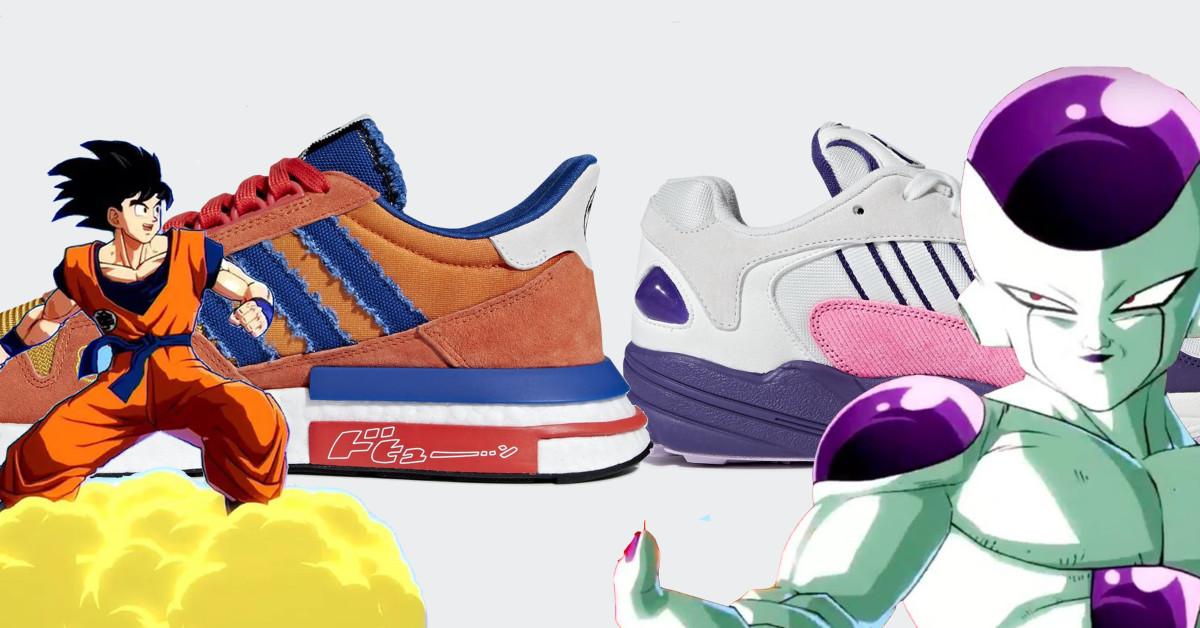 comunidad Camión golpeado Que pasa  The Five Best DBZ Adidas Sneakers In the World
