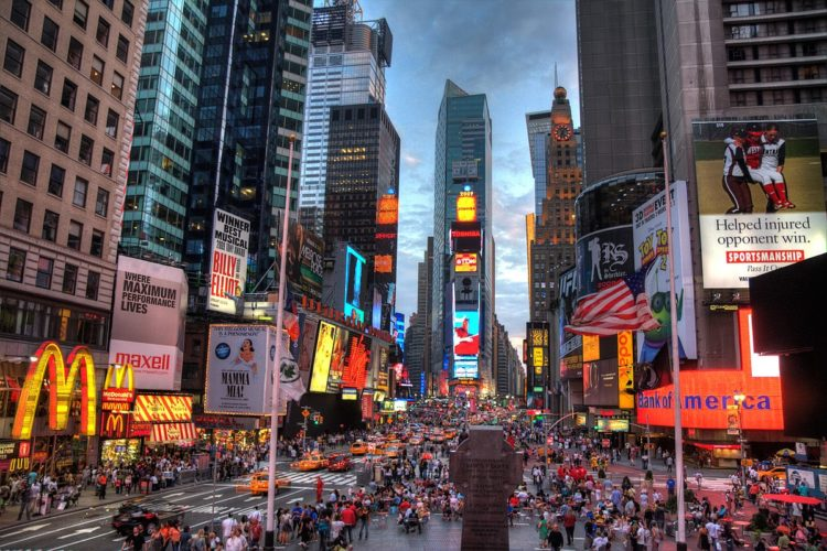 The Five Best Hotels In Times Square Nyc