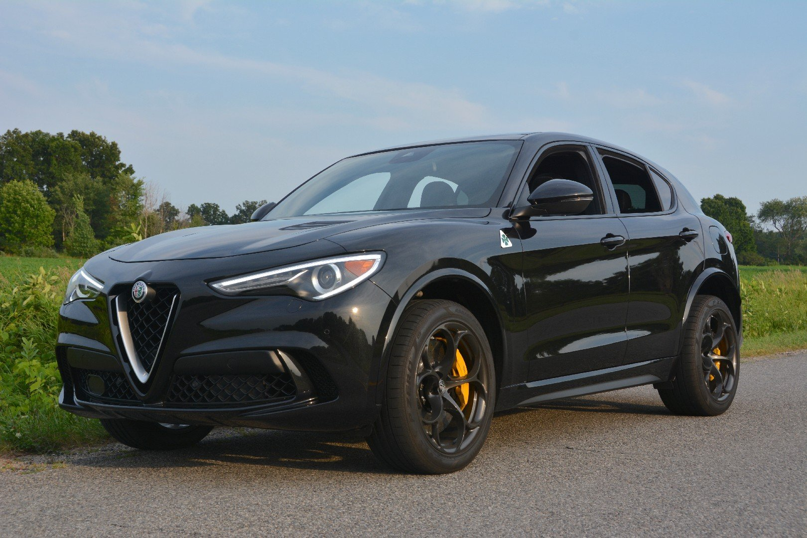 Alfa Romeo Stelvio Business >> A Closer Look at the 2019 Alfa Romeo Stelvio Quadrifoglio
