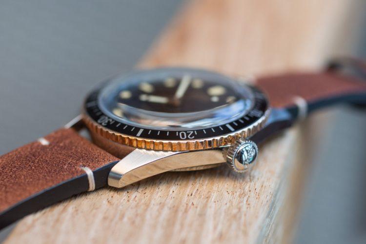 a closer look at the oris divers sixty five bronze bezel