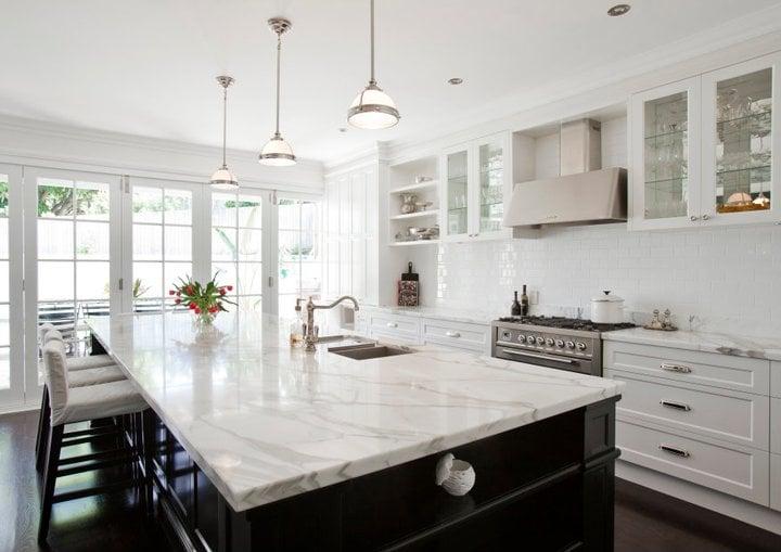 8 Gorgeous Marble Kitchen Island Ideas - Money Inc