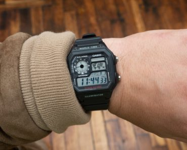 A Closer Look at The Casio AE1200WH-1A World Timer