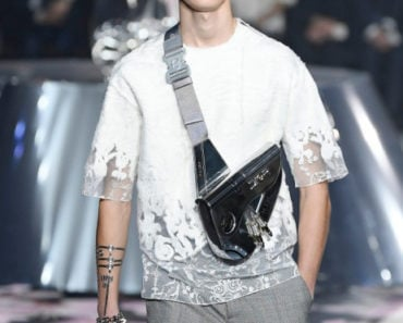 The $35,000 Dior Saddle Bag Just for Guys