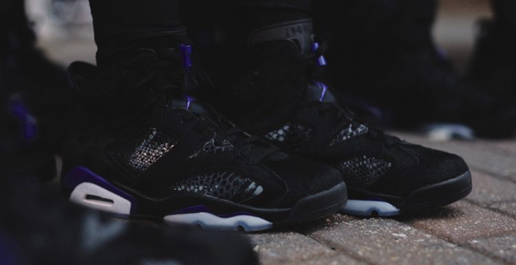 ce27d6716a01 The Social Status x Air Jordan 6 is truly a sweetheart of a sneaker. The  new release was made available on February 14