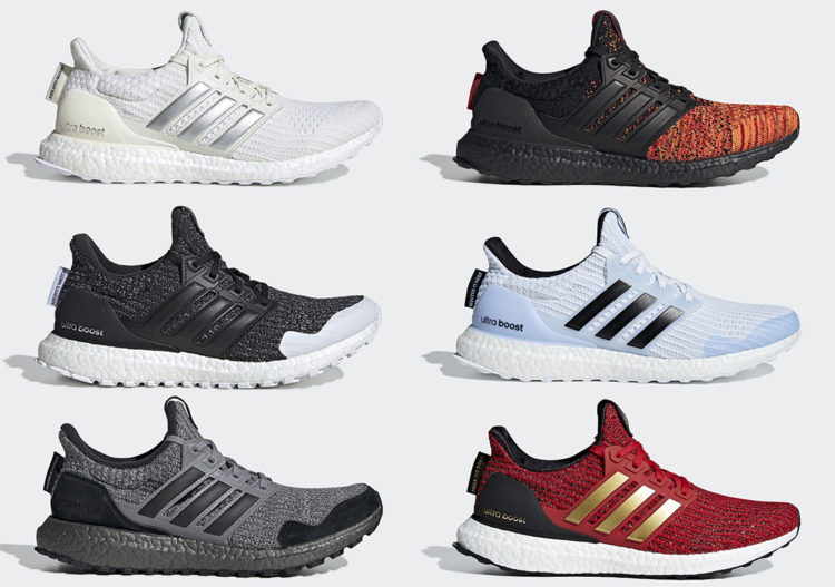 5c7e134df45 A Closer Look at the Game of Thrones x Adidas Ultra Boost Collection