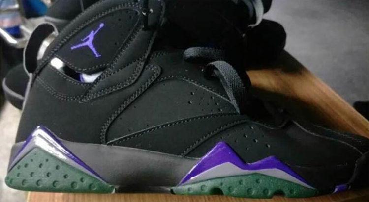 """515f67d184fa A Closer Look At The Air Jordan 7 """"Bucks"""""""
