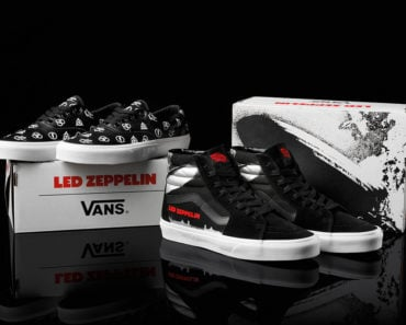 Celebrate 50 Years of Led Zeppelin with these Vans Sneakers