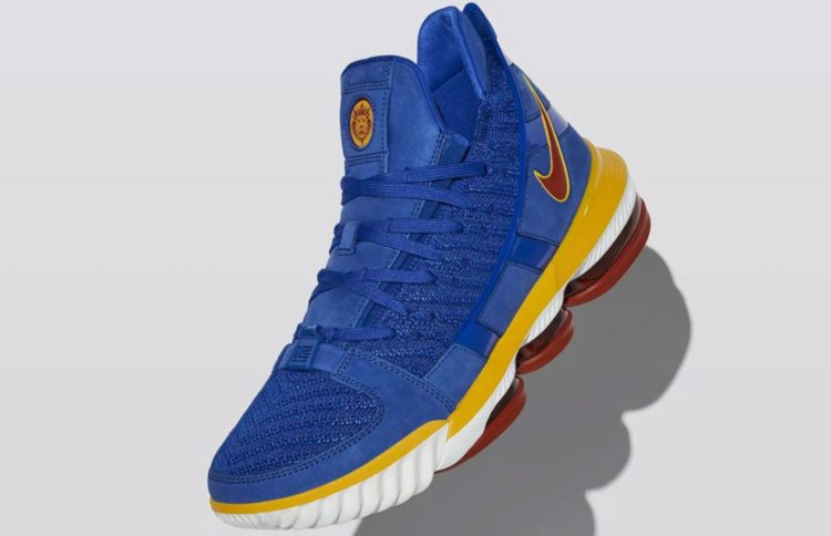 "3e1c767c5cc Nike just keeps rolling out the new sneaker lines for 2019 and they ve made  the official announcement that the new LeBron 16 is available in their ""SB  Blue"" ..."