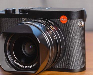 A Closer Look at $5,000 Leica Q2 Camera