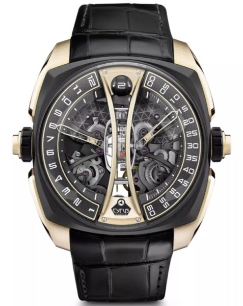 Cyrus Klepcys Vertical Tourbillon Watch